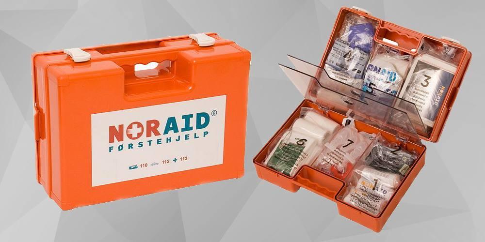 Førstehjelpskoffert, medium
