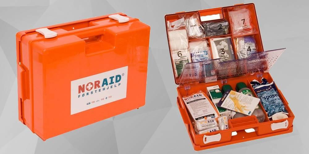 Førstehjelpskoffert, stor